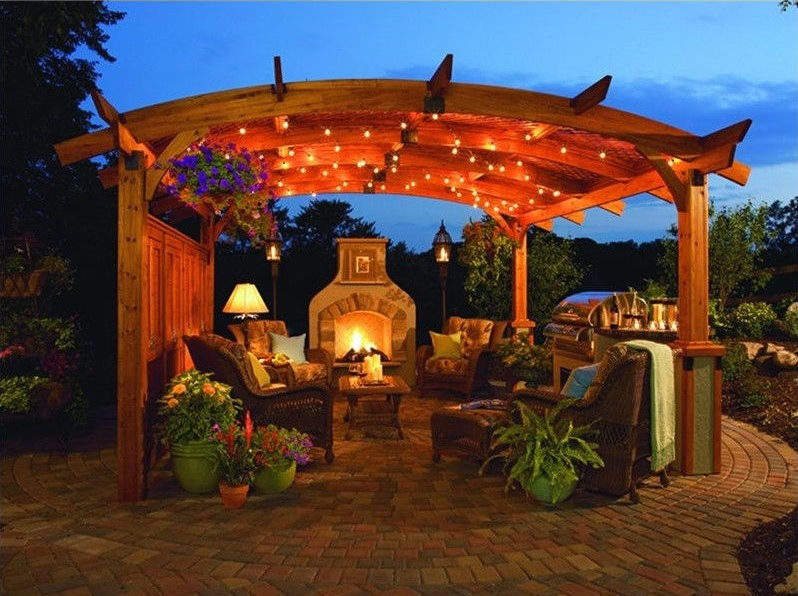 Interior design for outdoor living spaces