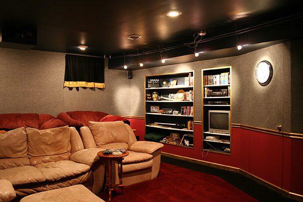 Interior design for Home Theater