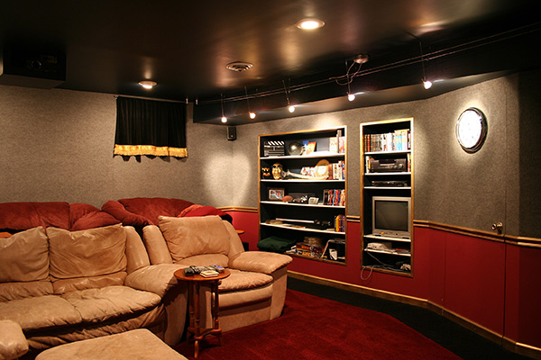 Interior design for Home Theater